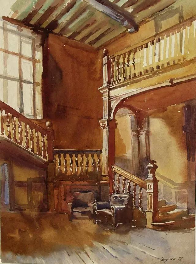 英国皇家美术学院齐名,是世界著名的四大美术学院之一,主要培养大师级